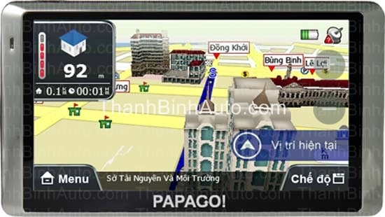 Thiết bị dẫn đường cho ô tô PAPAGO H8_Thanhbinhauto Long Biên