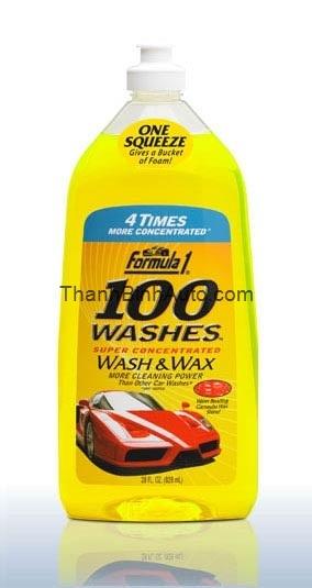 Rửa và bóng đậm đặc 100 FORMULA1