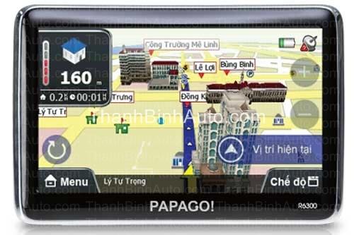 Thiết bị dẫn đường cho ô tô Papago R6300