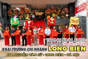 Khuyến mãi tưng bừng khai trương ThanhBinhAuto Long Biên