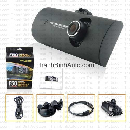 Camera hành trình Dual Cam F50_Thanhbinhauto Long Biên Hà Nội