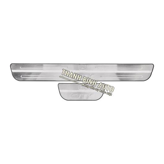 Ốp bậc cửa không đèn xe Honda City  Thông tin sản phẩm   Thông tin sản phẩm   Liên hệ    Khuyến mãi ...