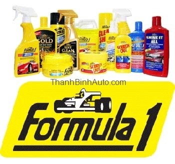 Formula1 - Sản phẩm chăm sóc xe số 1 Hoa Kỳ