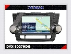 GPS Navigation for TOYOTA Highlander - JENKA DVX-8037HDG 
