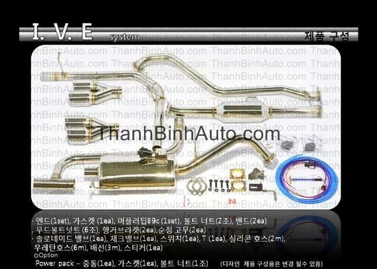 hệ thống ống xả 2 chế độ mẫu IVE 7 ISM huyndai avante md