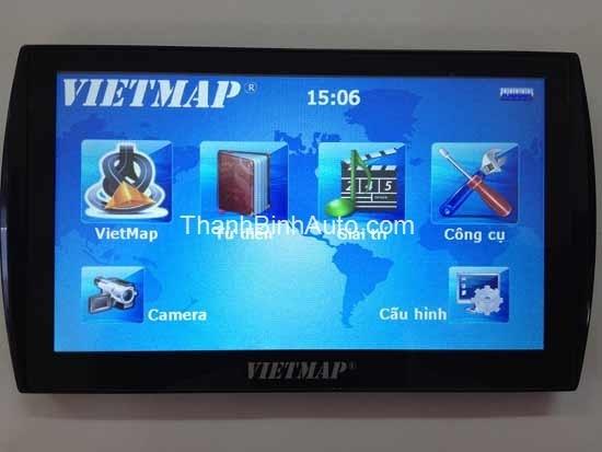 Thiết bị dẫn đường cho ô tô Vietmap C007 - Thanhbinhauto