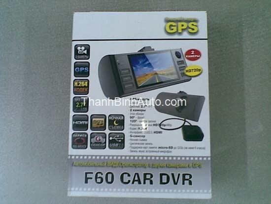Camera hành trình DVR F60 có GPS_Thanhbinhauto Long Biên