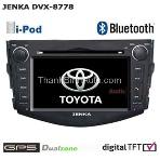 JENKA DVX-8778 Car Video for TOYOTA RAV-4