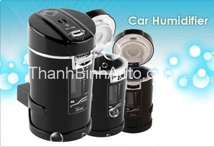 Car Humidifier - biến nước thành ion âm và oxy