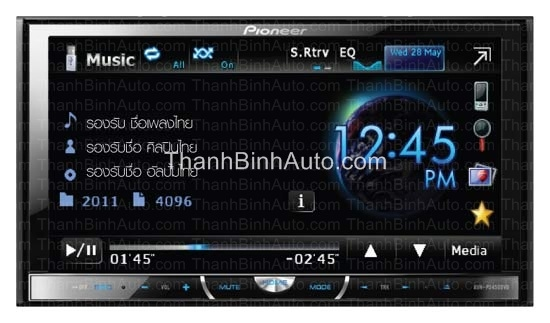 Thanhbinhauto Long Biên_DVD Pioneer AVH-P4450BT