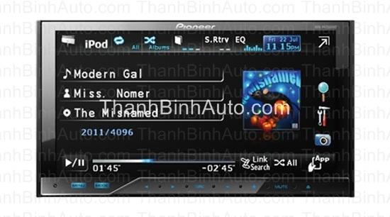 Màn hình dvd Pioneer AVH-P4350DVD_Giá khuyến mại