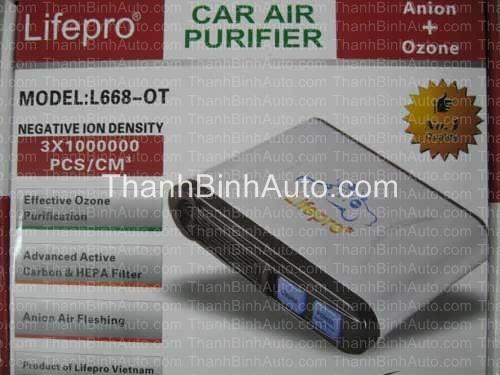 Máy khử mùi ôtô L668-OT