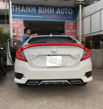 Lip sau 2 pô HONDA CIVIC 2017