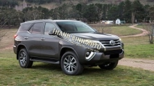 Toyota Fortuner 2016 accessories