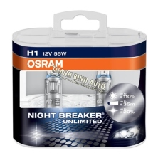 Bóng đèn Osram H1 Night Breaker Unlimited