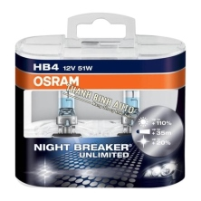 Bóng đèn Osram HB4 Night Breaker Unlimited