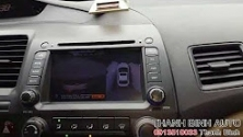 Video HONDA CIVIC 2007 lắp camera 360