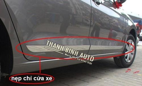 Nẹp sườn xi mạ cho xe Honda City  Thông tin sản phẩm   Thông tin sản phẩm   Liên hệ    Khuyến mãi   ...