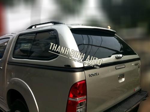 Phân phối -Nắp thùng thấp Toyota Hilux mang cá SCR