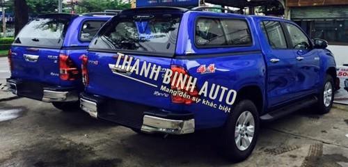 Tại ThanhBinhAuto-Nắp Carryboy S560N Toyota Hilux Revo- Chất lượng tốt